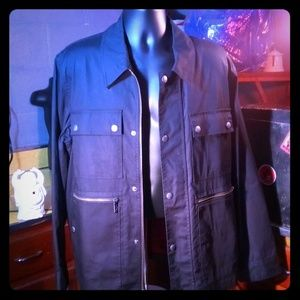 Michael Kors Men's  Black Field Jacket  Large